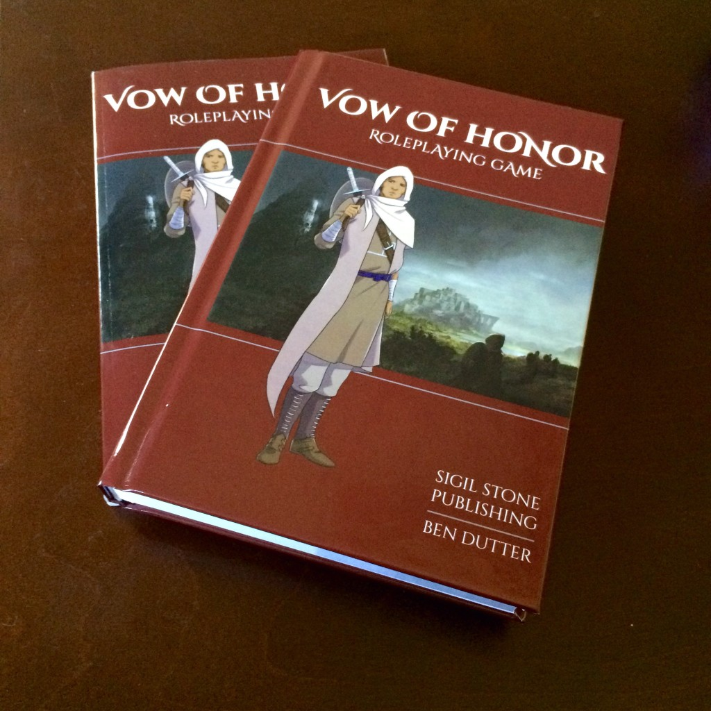 Vow of Honor print picture